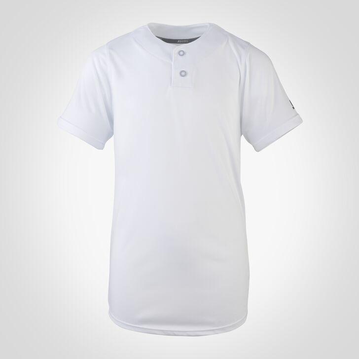 Youth Dri-Power® Solid Baseball Jersey WHITE