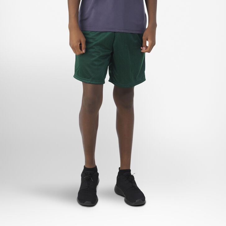Youth Dri-Power® Mesh Shorts DARK GREEN