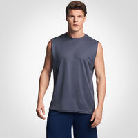 Men's Dri-Power® Mesh Performance Muscle Stealth