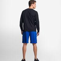 Men's Cotton Performance Long Sleeve T-Shirt BLACK