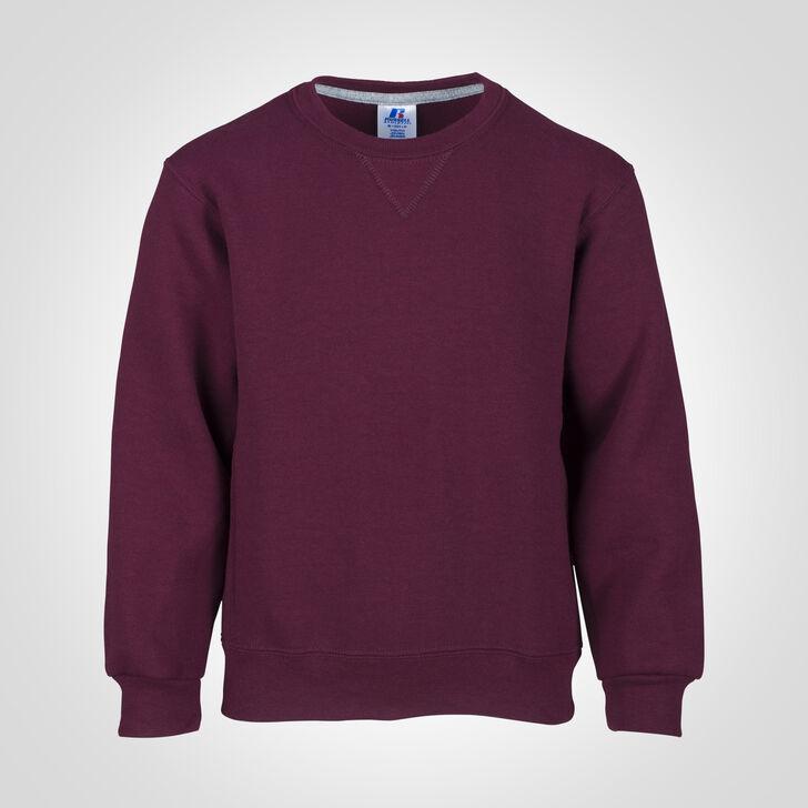 Youth Dri-Power® Fleece Crew Sweatshirt MAROON