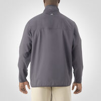 Men's Woven 1/4 Zip Pullover STEALTH