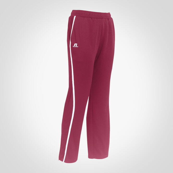 Youth Gameday Warm Up Pants CARDINAL/WHITE