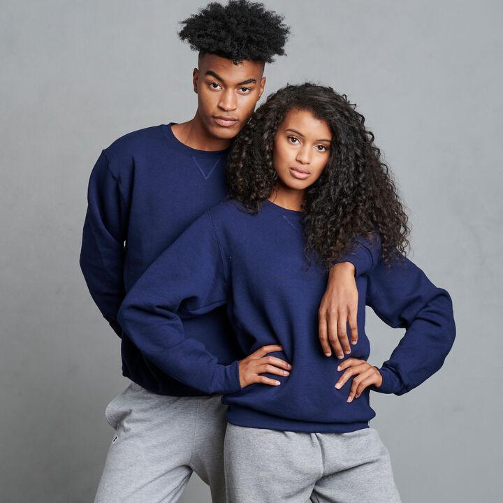 Men's Dri-Power® Fleece Crew Sweatshirt Navy