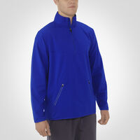 Men's Woven 1/4 Zip Pullover ROYAL