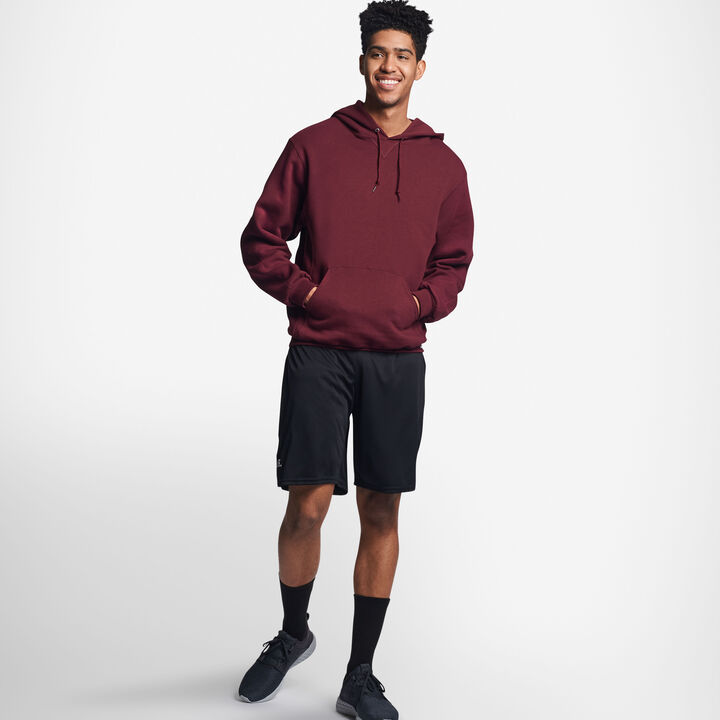 Men's Dri-Power® Fleece Hoodie MAROON