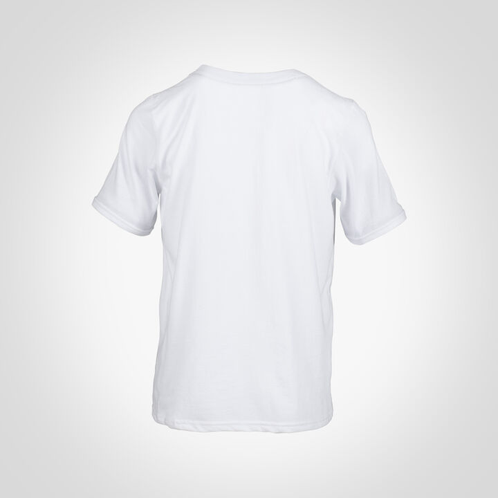 Youth Cotton Performance T-Shirt WHITE