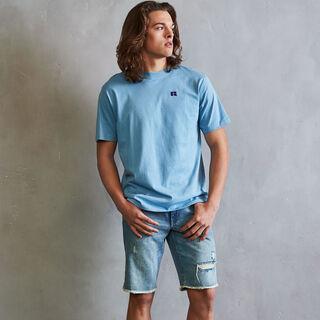 Men's Heritage Baseliner T-Shirt PLACID BLUE