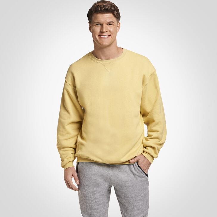 Men's Dri-Power® Fleece Crew Sweatshirt GT Gold