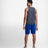 Men's Cotton Performance Tank Top BLACK HEATHER