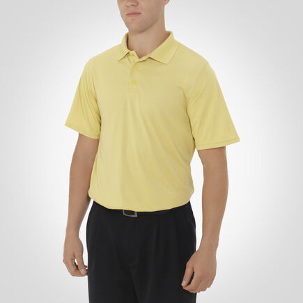 Men's Dri-Power® Essential Short Sleeve Polo GT GOLD