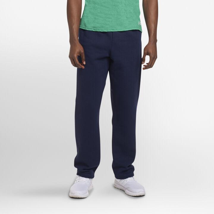 Men's Dri-Power® Open Bottom Fleece Sweatpants NAVY