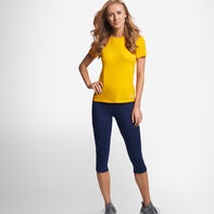 Women's Cotton Performance T-Shirt GOLD