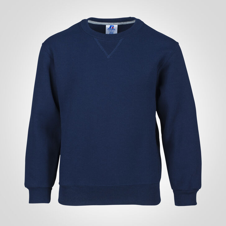 Youth Dri-Power® Fleece Crew Sweatshirt NAVY