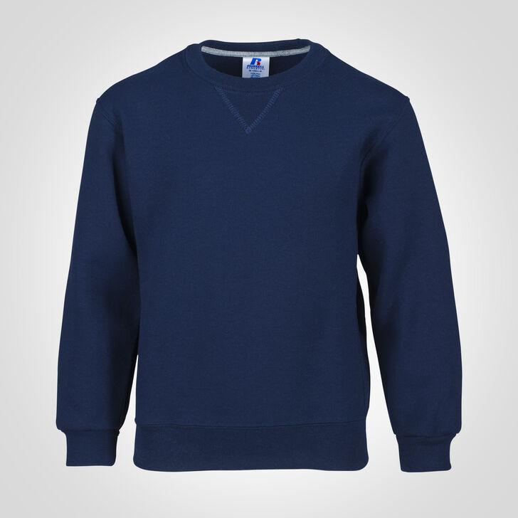 Youth Dri-Power® Fleece Crew Sweatshirt NAVY