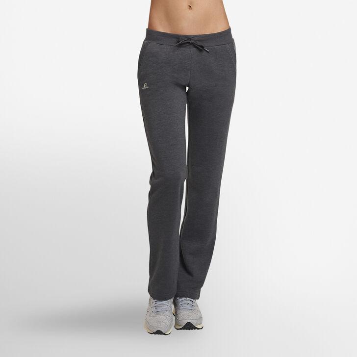 Women's Fleece Sweatpants BLACK HEATHER