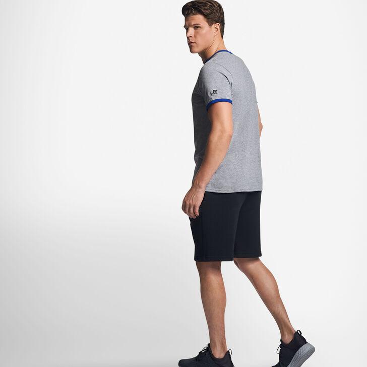Men's Cotton Performance Ringer T-Shirt OXFORD/ROYAL