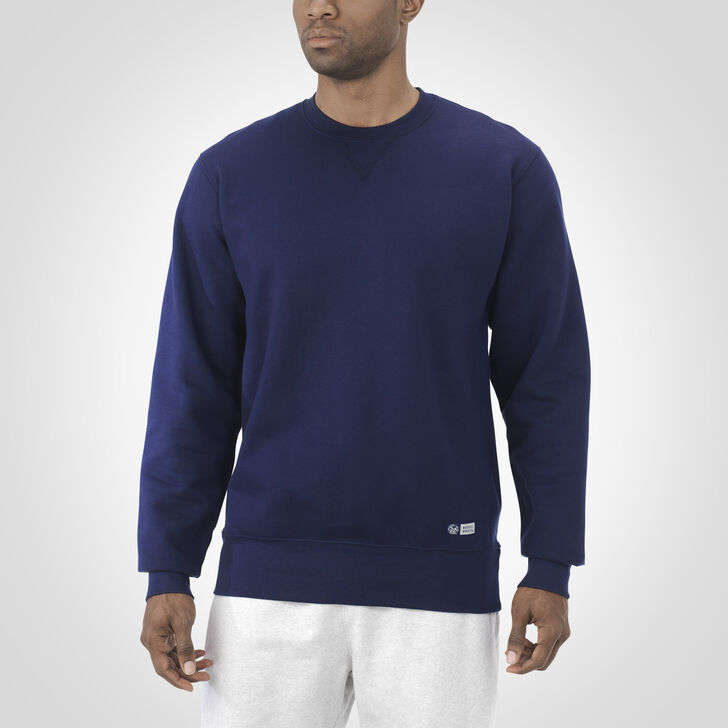 Men's Pro10 Fleece Crew Sweatshirt NAVY