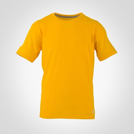 Youth Cotton Performance T-Shirt GOLD