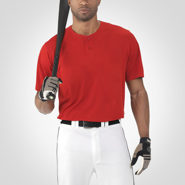 Men's Dri-Power® Solid Baseball Jersey TRUE RED
