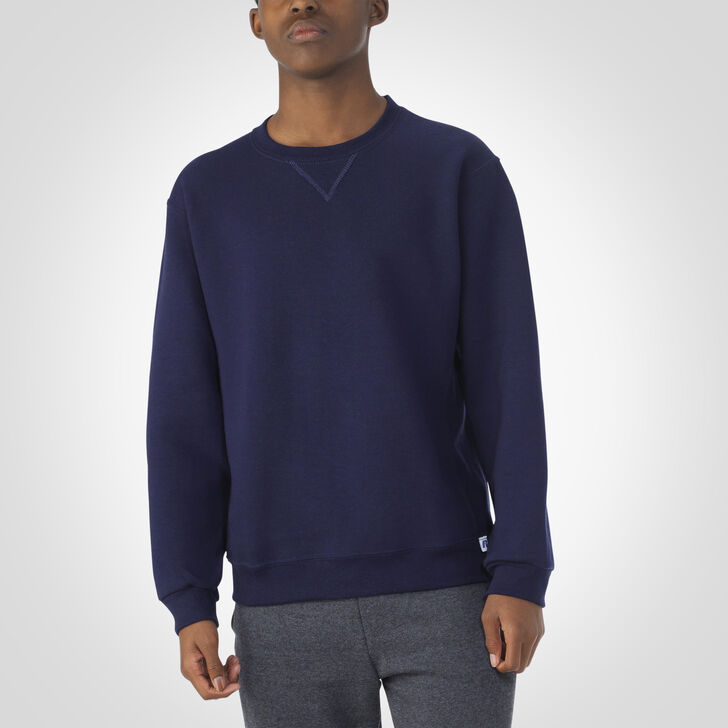 Youth Dri-Power® Fleece Crew Sweatshirt J.NAVY