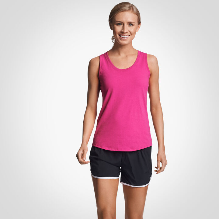 Women's Cotton Performance Tank Top VERY BERRY