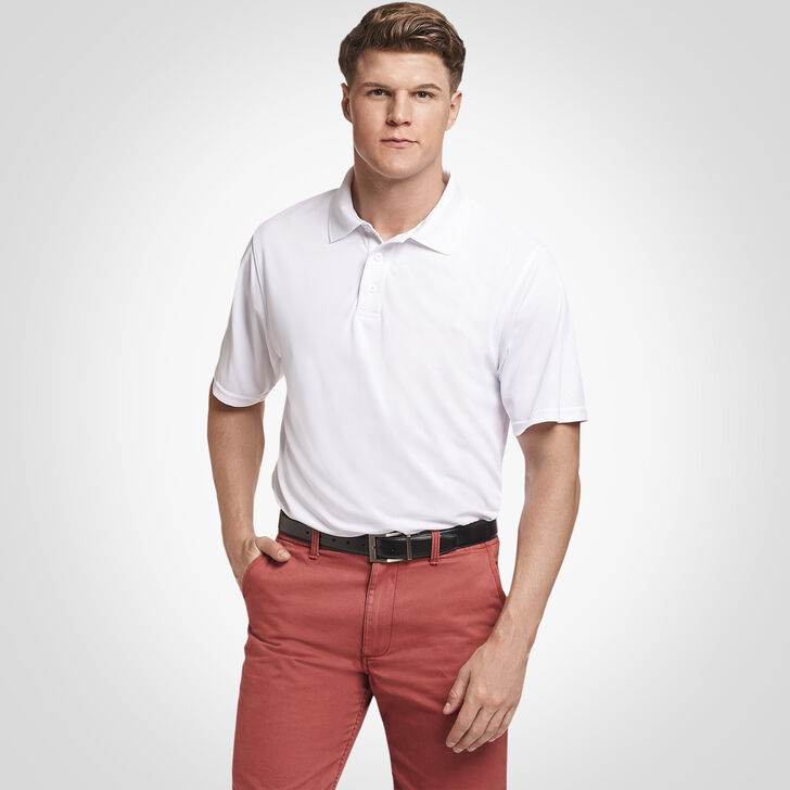 Men's Dri-Power® Performance Golf Polo WHITE