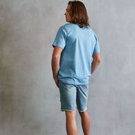 Men's Heritage Baseliner T-Shirt PLACID BLUE