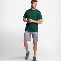Men's Cotton Performance T-Shirt DARK GREEN