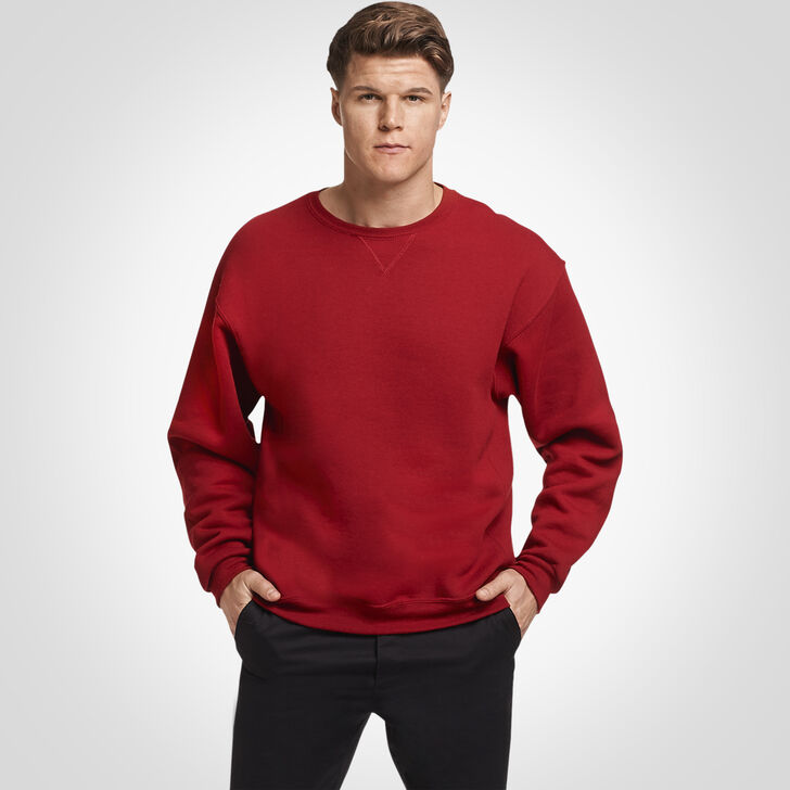 Men's Dri-Power® Fleece Crew Sweatshirt Cardinal