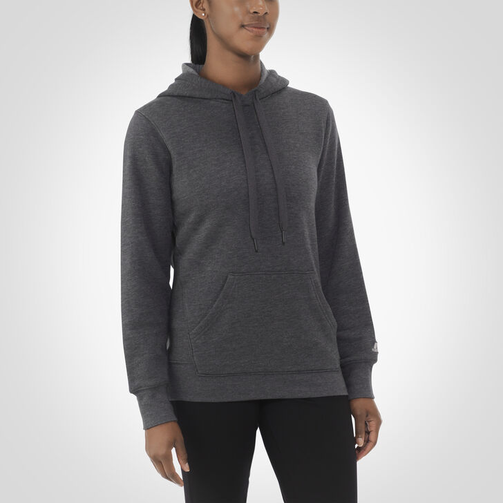 Women's Fleece Hoodie BLACK HEATHER