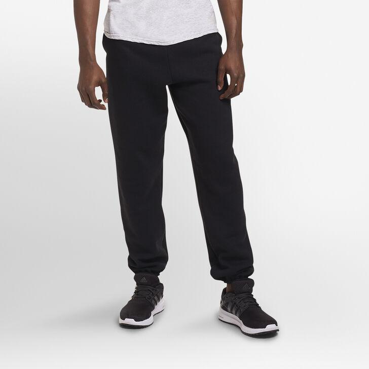 Men's Dri-Power® Closed-Bottom Sweatpants with Pockets Black
