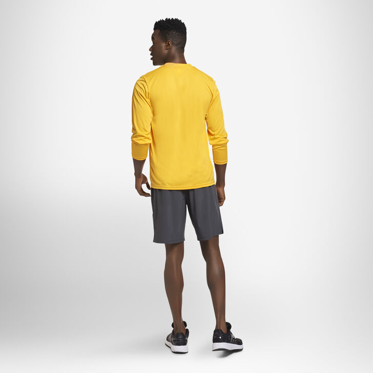 Men's Dri-Power® Performance Long Sleeve T-Shirt GOLD