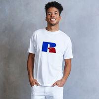 Men's Heritage Flock Graphic T-Shirt WHITE