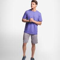 Men's Cotton Performance T-Shirt RETRO HEATHER PURPLE