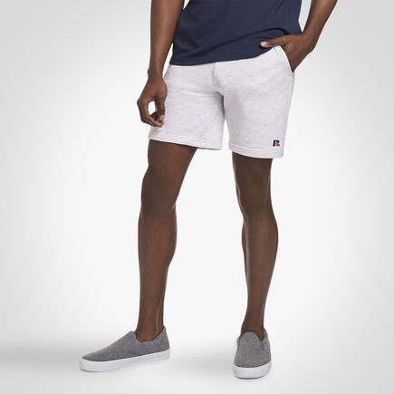 Russell Athletic Explorers Eagle R Fleece Shorts SILVER MARL