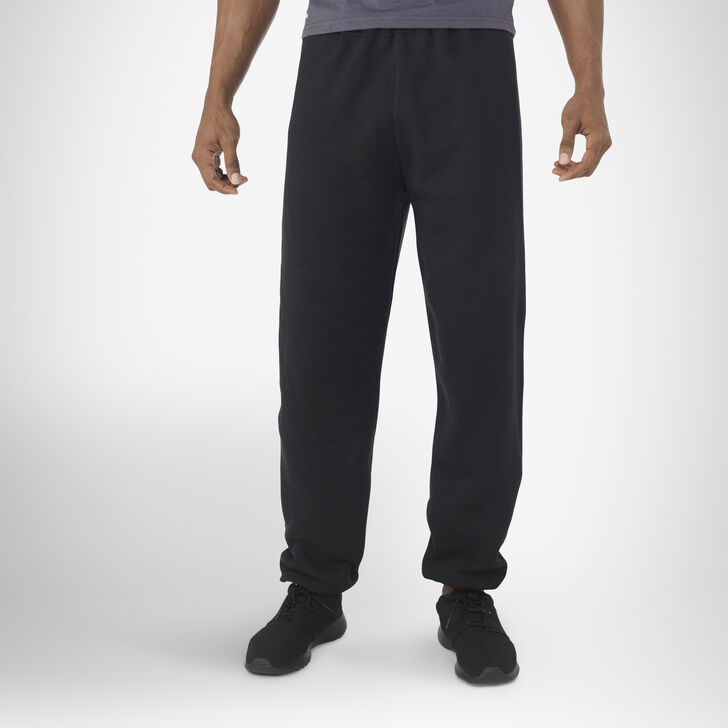 Men's Dri-Power® Closed-Bottom Sweatpants BLACK
