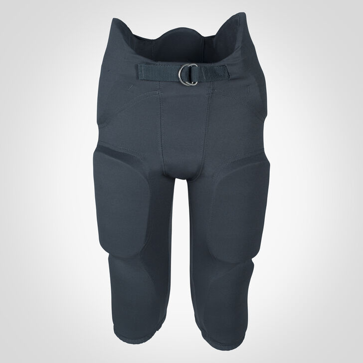 Youth Integrated 7-Piece-Pad Football Pants STEALTH