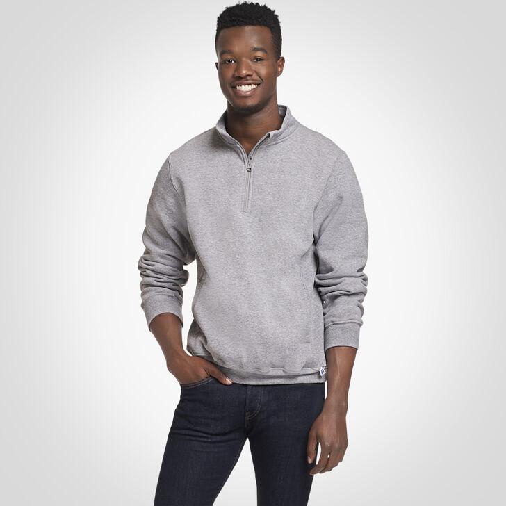 Men's Dri-Power® Fleece 1/4 Zip Pullover OXFORD