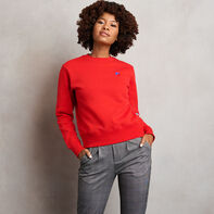 Women's Heritage Fleece Crew Sweatshirt TRUE RED