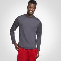 Men's Dri-Power® Performance Long Sleeve T-Shirt STEALTH