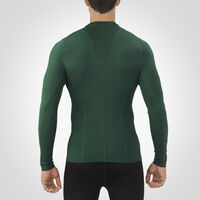 Men's Dri-Power® Tight-Fit Cold Weather Long Sleeve Crew DARK GREEN