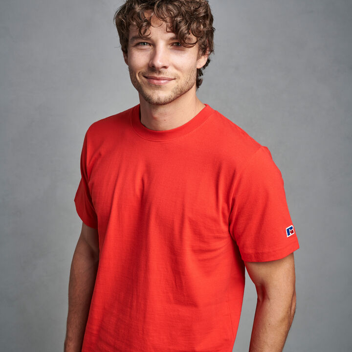 Men's Premium Cotton Classic T-Shirt RED