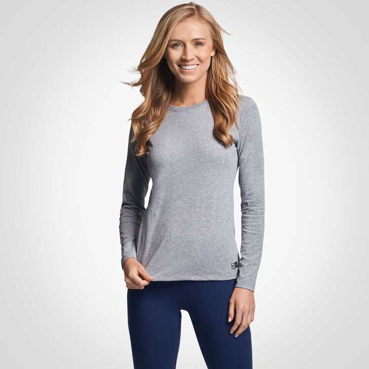 Women's Cotton Performance Long Sleeve T-Shirt OXFORD