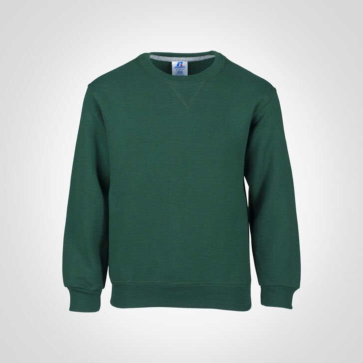 Youth Dri-Power® Fleece Crew Sweatshirt DARK GREEN