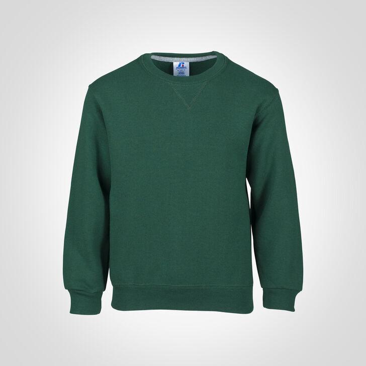 Youth Dri-Power® Fleece Crew Sweatshirt DARK GREEN