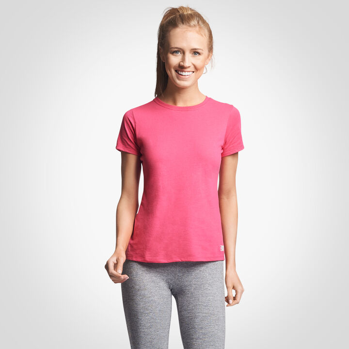 Women's Cotton Performance T-Shirt WATERMELON PINK