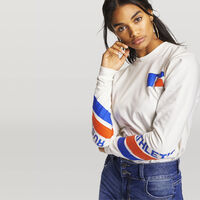 Women's Heritage Long Sleeve Graphic Boyfriend Tee SOYA