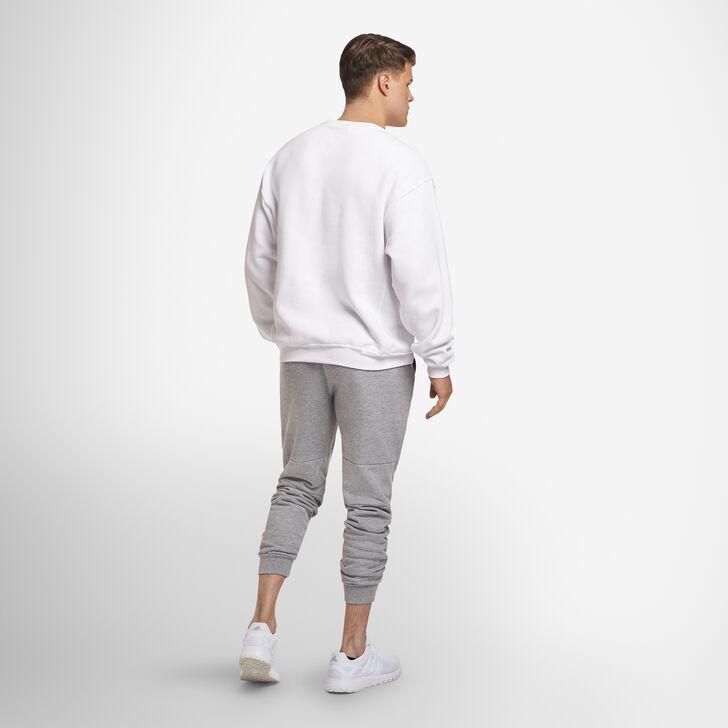 Men's Dri-Power® Fleece Crew Sweatshirt WHITE