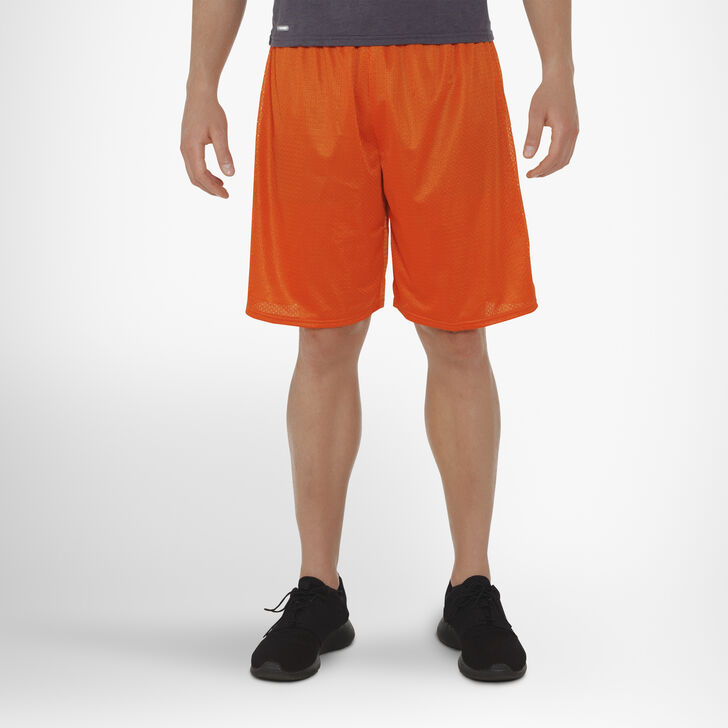 Men's Dri-Power® Mesh Shorts BURNT ORANGE